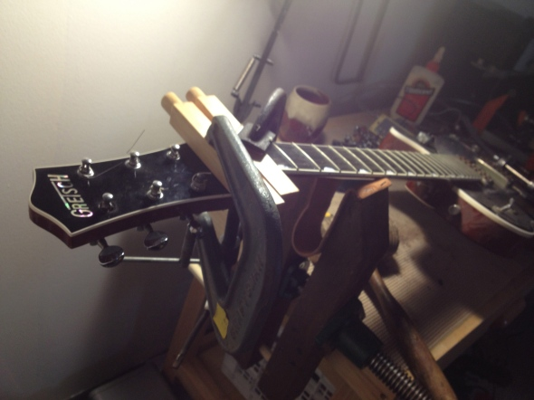 Gretsch Headstock Repair